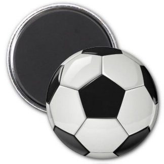 Realistic and cool Soccer Ball Refrigerator Magnet