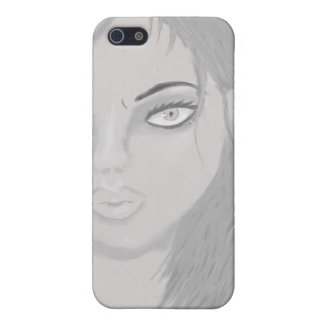 Realistic Anime Girl iPhone 5 Matte Finish Case