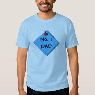 Realistic Art of Paper, Thumbtack:  NO. 1 DAD Tee Shirt