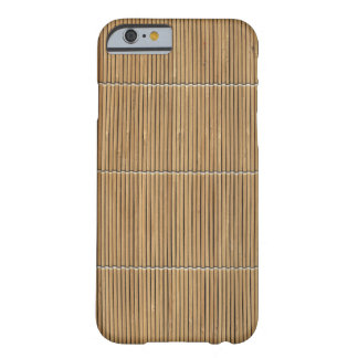 realistic Bamboo Mat Phone Case Barely There iPhone 6 Case