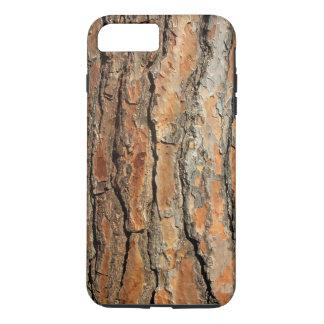 Realistic Bark Texture Photo 05 Orange Brown iPhone 8 Plus/7 Plus Case