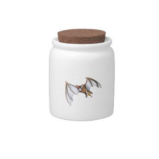REALISTIC BAT CANDY JAR
