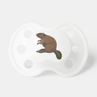 Realistic Beaver Pacifier