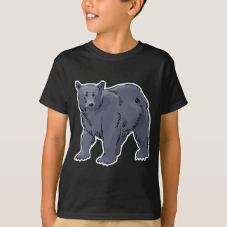 realistic black bear design T-Shirt