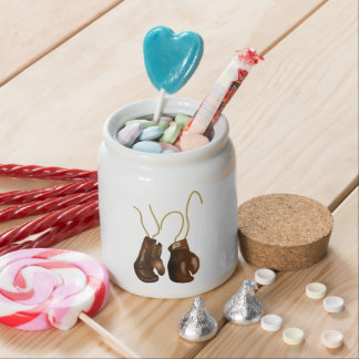 Realistic Boxing Gloves Candy Jars