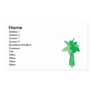 realistic brussels business card