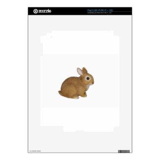 Realistic Bunny Rabbit Skin For The iPad 2