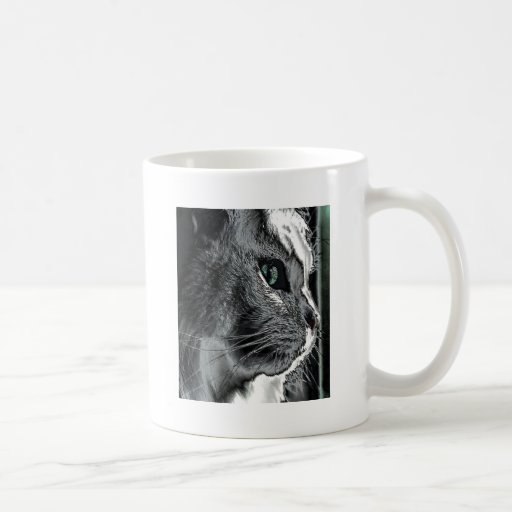 Realistic Cat Mug