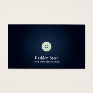 Realistic Denim Business Card No.5