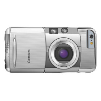 realistic Digital Camera Iphone Case Barely There iPhone 6 Case
