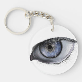 Realistic Eye Key Chain