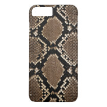 Realistic Faux Snake Skin Animal Print iPhone 8 Plus/7 Plus Case