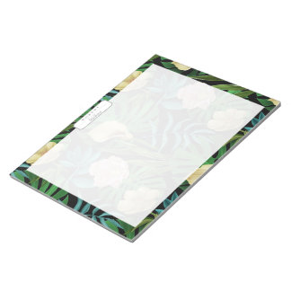 Realistic Flowers Pattern #1 Notepad