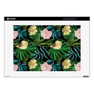 Realistic Flowers Pattern #1 Skin For Laptop