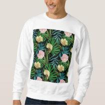Realistic Flowers Pattern #1 Sweatshirt