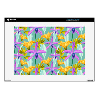 Realistic Flowers Pattern #3 Skins For Laptops