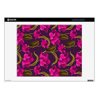 Realistic Flowers Pattern #4 Skin For Laptop