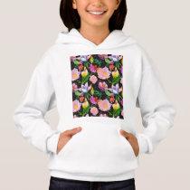 Realistic Flowers Pattern #5 Hoodie