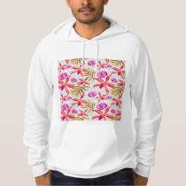 Realistic Flowers Pattern #6 Hoodie