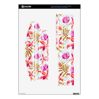 Realistic Flowers Pattern #6 PS3 Console Decals