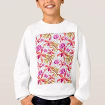 Realistic Flowers Pattern #6 Sweatshirt
