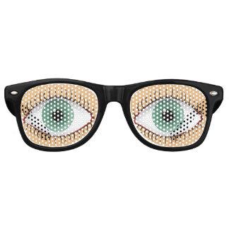 Realistic Funny Human Eye Retro Sunglasses