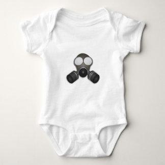 Realistic Gas Mask Baby Bodysuit