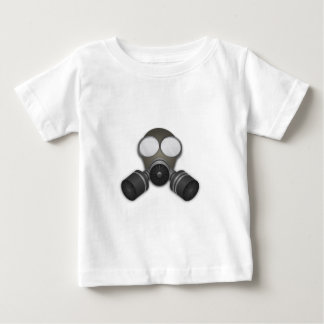 Realistic Gas Mask Baby T-Shirt