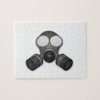 Realistic Gas Mask Puzzles