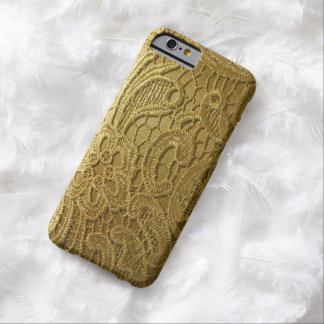 realistic gold satin lace phone Case iPhone 6 Case