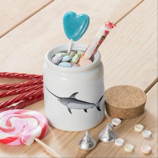Realistic Gray/Grey Swordfish Candy Dish