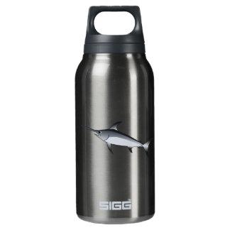 Realistic Gray/Grey Swordfish Insulated Water Bottle