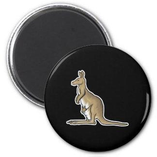 realistic kangaroo refrigerator magnet