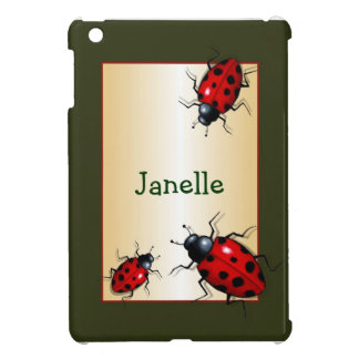 Realistic Ladybugs, Ladybirds: Personalize Cover For The iPad Mini