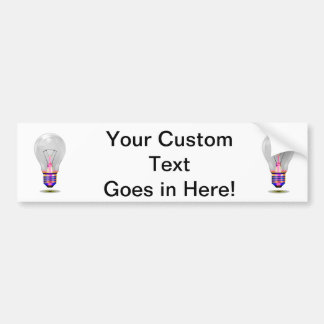 realistic lightbulb with colored base png bumper stickers