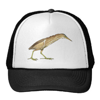 Realistic Little Bittern Bird Trucker Hat