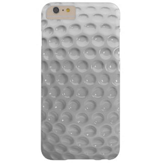 Realistic Looking Golf Ball Texture Pattern Barely There iPhone 6 Plus Case