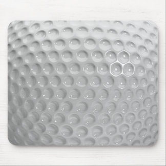 Realistic Looking Golf Ball Texture Pattern Mousepad
