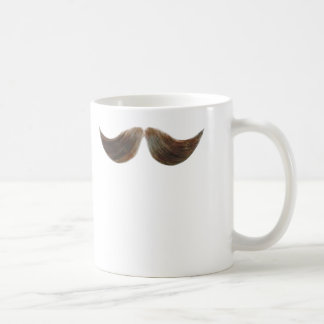 Realistic Mustache Mug