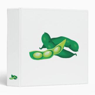 realistic pea pods vinyl binders