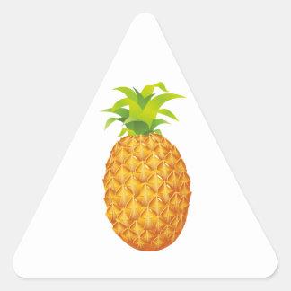 Realistic Pineapple Fruit Triangle Sticker