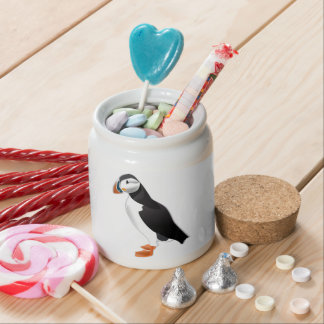 Realistic Puffin Bird Candy Dishes