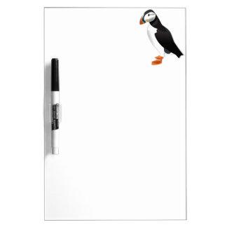 Realistic Puffin Bird Dry Erase Whiteboards