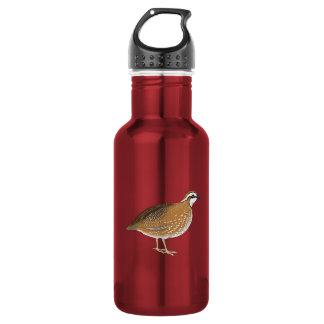 Realistic Quail Bird Water Bottle