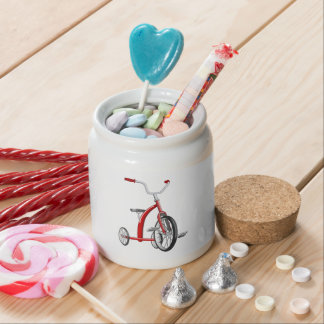 Realistic Red Tricycle Candy Jars