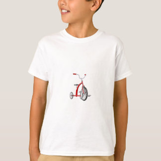 Realistic Red Tricycle T-Shirt