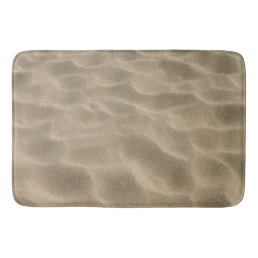 Realistic Soft Beach Sand Bath Mat