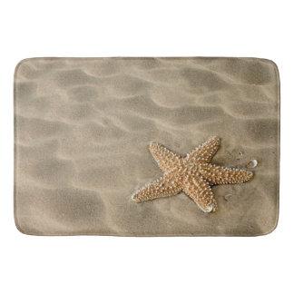Realistic Soft Beach Sand with Starfish Bath Mats