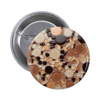Realistic Stone effect Button 2 Inch Round Button