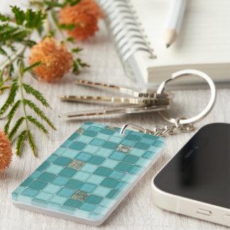 Realistic Tile effect Keychain